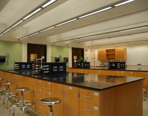 WAGNER COLLEGE, CHEMISTRY LABORATORY