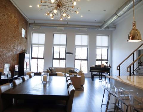 Clinton Street Loft, Hoboken, New Jersey - Peter Johnston Architect PC